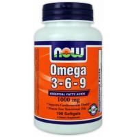 NOW Omega 3-6-9 1000mg 180 softgel