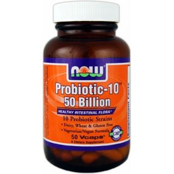 Now Probiotic-10 50 billion 50 veg caps