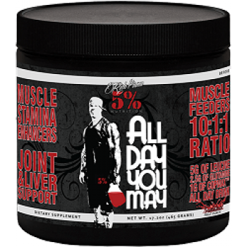 5 Nutrition by Rich Piana Rich Piana 5% Nutrition All Day You May 30 serv