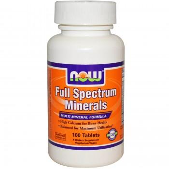 Now Full Spectrum Mineral 100 tab