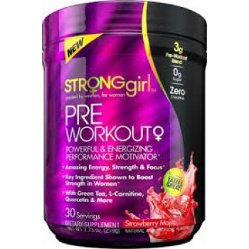 StrongGirl Pre-Workout 30 serv