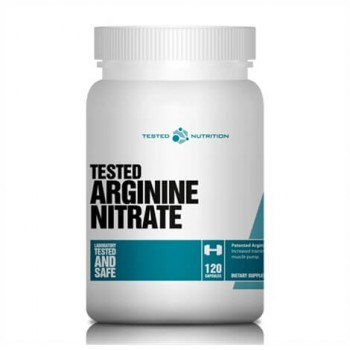 Tested Arginine Nitrate 120 caps