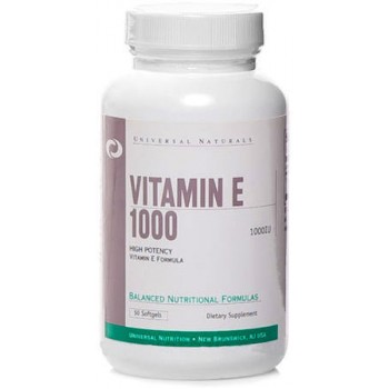 Universal Vitamin E 1000 IU 50 softgel