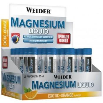 Weider Magnesium Liquid 20 x 25 ml