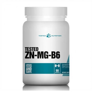 Tested Nutrition Zn-Mg-B6 90 caps